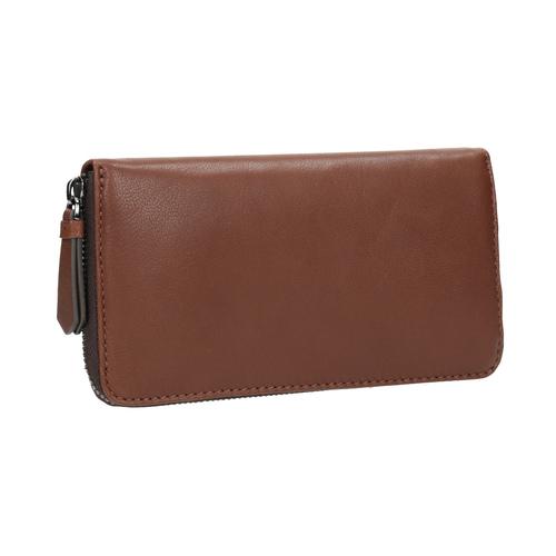 Portafoglio marrone in pelle bata, marrone, 944-3165 - 13