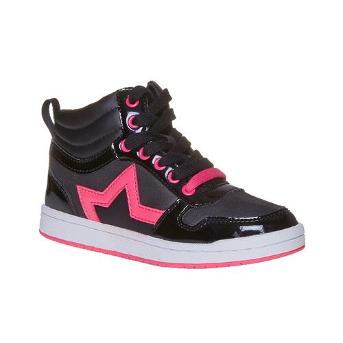 Sneakers da ragazza con stella mini-b, nero, 321-6222 - 13
