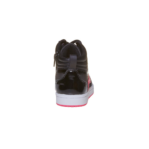 Sneakers da ragazza con stella mini-b, nero, 321-6222 - 17