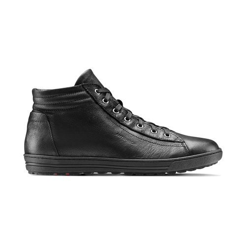 Sneakers da donna in pelle bata, nero, 594-6659 - 26