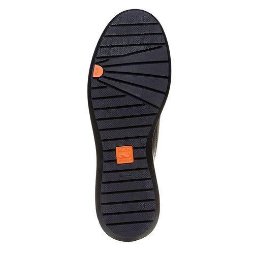 Sneakers da uomo con suola strutturata. flexible, grigio, 844-2205 - 26