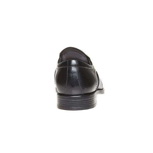Mocassini in pelle da uomo bata, nero, 814-6143 - 17