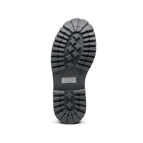 Scarpe invernali da bambino sopra la caviglia weinbrenner-junior, blu, 396-9263 - 17