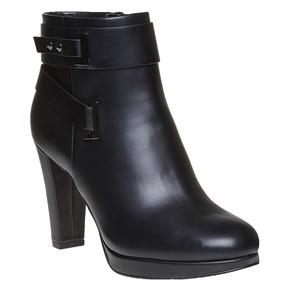 Stivaletti da donna alla caviglia bata, nero, 791-6302 - 13