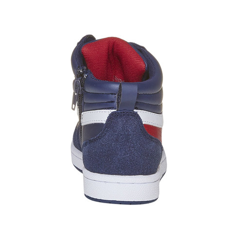 Sneakers da bambino alla caviglia mini-b, blu, 311-9232 - 17