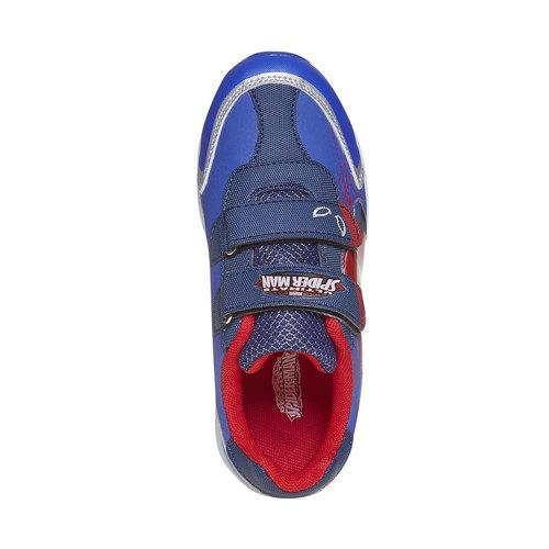Sneakers da bambino con chiusure a velcro spiderman, viola, 311-9230 - 19