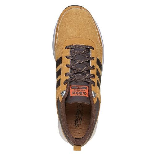 Sneakers da uomo in pelle adidas, marrone, 803-3893 - 19