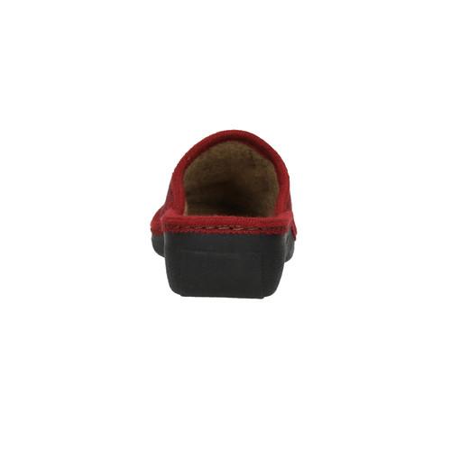 Pantofole da donna bata, rosso, 579-5348 - 17