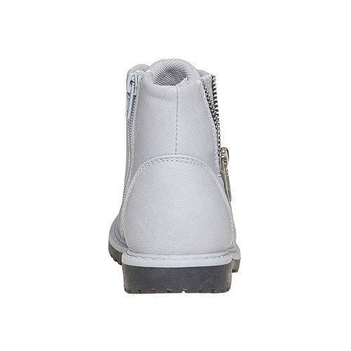 Scarpe alla caviglia da bambina con cerniera mini-b, grigio, 291-2161 - 17