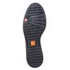 Scarpe basse in pelle da donna con elastico flexible, nero, 514-6244 - 26