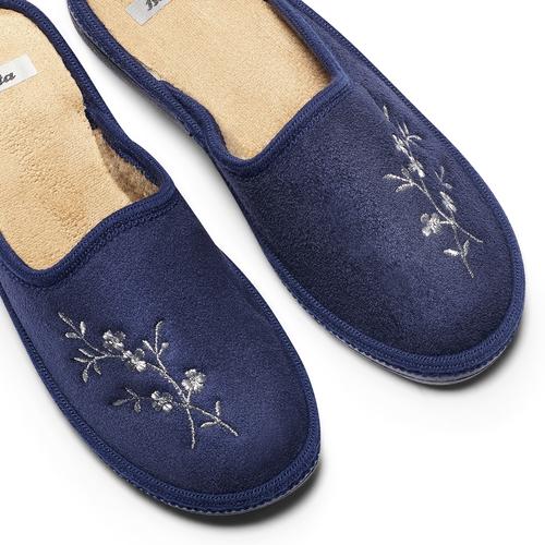 Ciabatte donna bata, blu, 579-9280 - 19