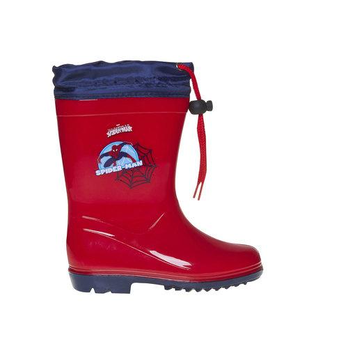 Stivali di gomma da bambino spiderman, rosso, 292-5190 - 15