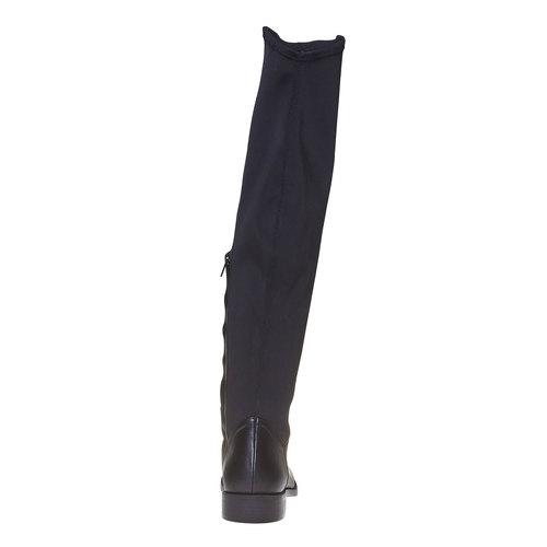 Stivali da donna sopra il ginocchio bata, nero, 591-6513 - 17