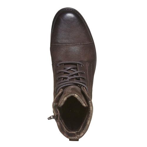 Scarpe invernali da uomo bata, marrone, 894-4284 - 19