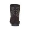Stivali Valenki da bambino con applicazioni in metallo mini-b, nero, 399-6301 - 17