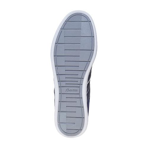 Sneakers informali da uomo bata, viola, 841-9633 - 15