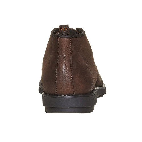 Desert Boots da uomo in pelle flexible, marrone, 824-4530 - 17