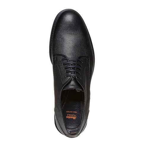Scarpe basse informali da uomo flexible, nero, 824-6525 - 19