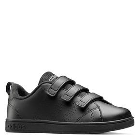 Sneakers da bambino con chiusure a velcro adidas, nero, 301-6168 - 13