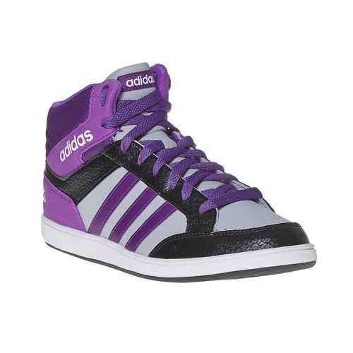 Sneakers da bambina alla caviglia adidas, grigio, 401-2331 - 13