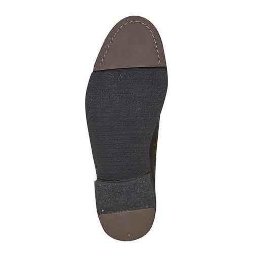 Scarpe Chelsea da uomo in pelle bata, marrone, 894-4566 - 26