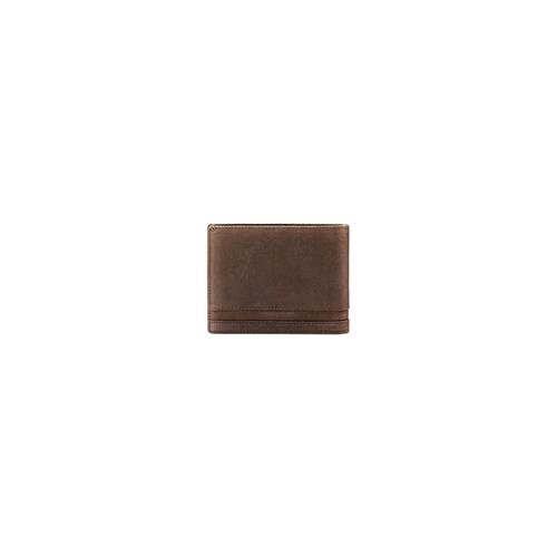 Portafoglio in pelle da uomo bata, marrone, 944-4143 - 26
