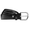 Cintura in pelle di vitello bata, nero, 954-6132 - 13