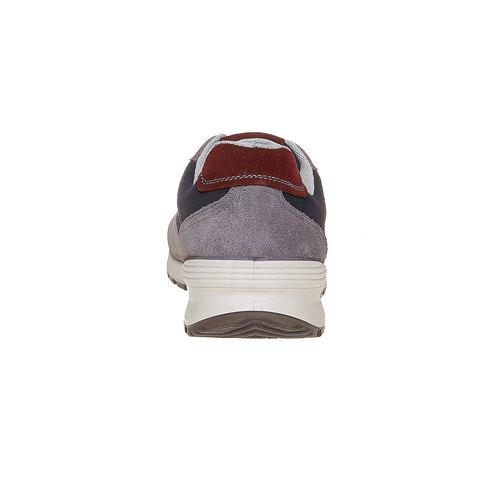 Sneakers eleganti da uomo bata, viola, 849-9692 - 17