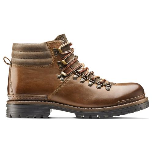 Scarpe in pelle con lacci originali bata, marrone, 894-4180 - 26