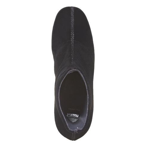 Stivaletti di velluto bata, nero, 799-6643 - 19