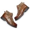 Scarpe in pelle con lacci originali bata, marrone, 894-4180 - 19