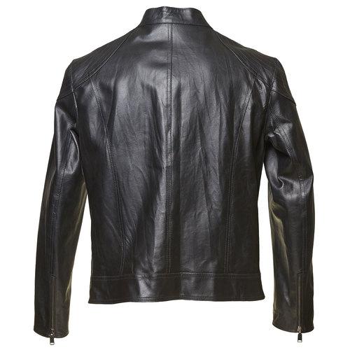 Giacca da uomo in pelle bata, nero, 974-6144 - 26