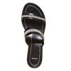 Sandal  bata, nero, 671-6111 - 19