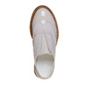 Scarpe basse da bambina senza lacci, marrone, 321-3245 - 19