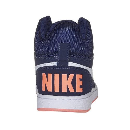 Sneakers da donna sopra la caviglia nike, blu, 501-9332 - 17