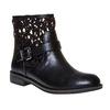 Stivaletti da donna sopra la caviglia con cinturino bata, nero, 591-6110 - 13