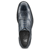 Oxford in pelle bata, blu, 824-9801 - 15