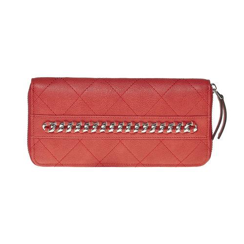 Portafoglio rosso con catenina bata, rosso, 941-5146 - 17