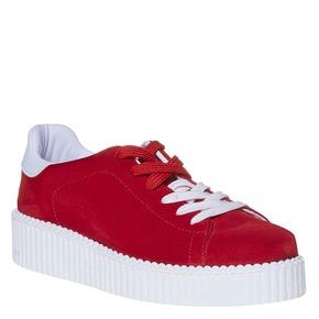 Sneakers da donna con suola appariscente, rosso, 523-5476 - 13