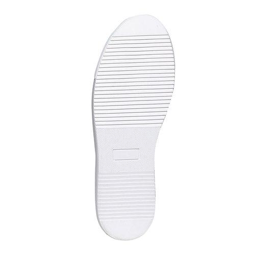 Sneakers da uomo in pelle bata, bianco, 844-1687 - 26