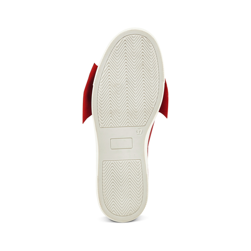 Slip on in pelle rosse north-star, rosso, 514-5264 - 17