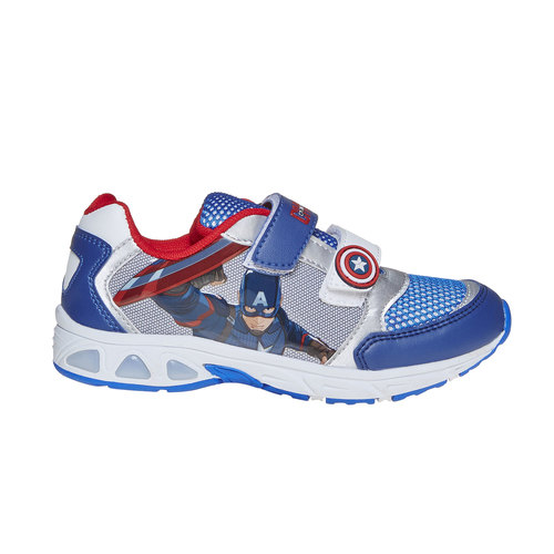 Sneakers da bambino con motivo, blu, 319-9254 - 15