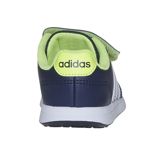 Sneakers da bambino con chiusure a strappo adidas, blu, 109-9163 - 17