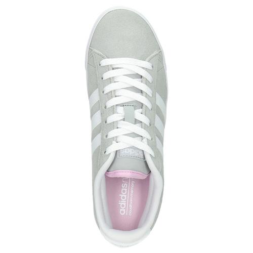 Sneakers da donna in pelle adidas, grigio, 503-2195 - 19