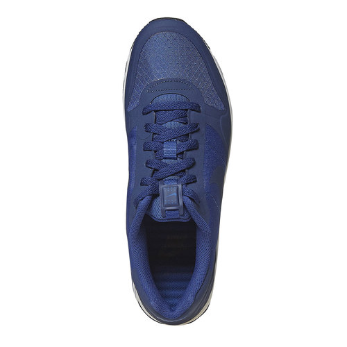 Sneakers blu da uomo nike, blu, 809-9153 - 19