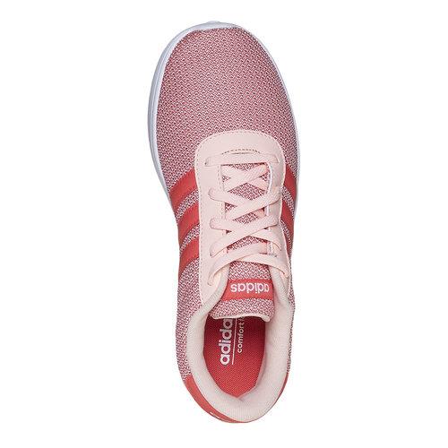 Sneakers rosa da bambina adidas, rosso, 409-5335 - 19
