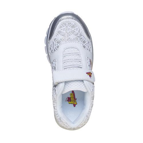 Sneakers da bambina, grigio, 329-2258 - 19