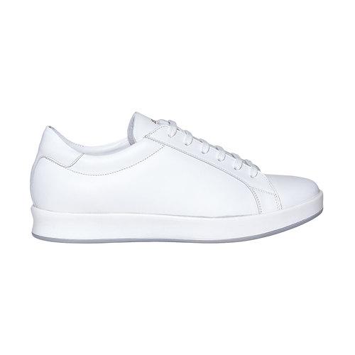 Sneakers bianche di pelle flexible, bianco, 844-1705 - 15