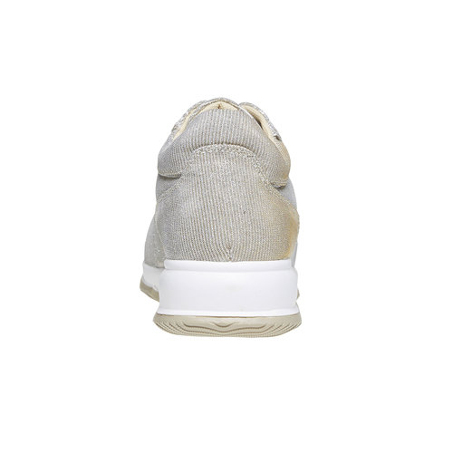 Sneakers dorate da donna bata, beige, 549-8255 - 17