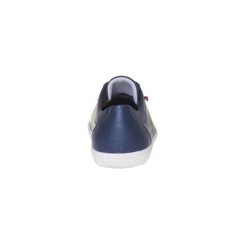 Sneakers casual da uomo levis, blu, 841-9513 - 17
